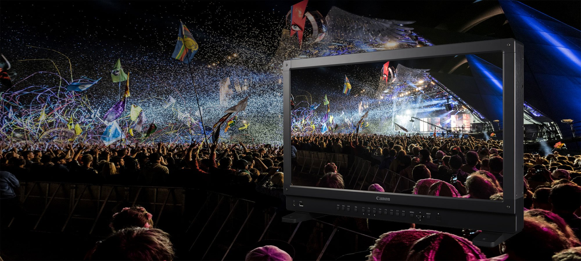 HD and 4K Broadcast Equipment Hire: Canon DP-V2410 24
