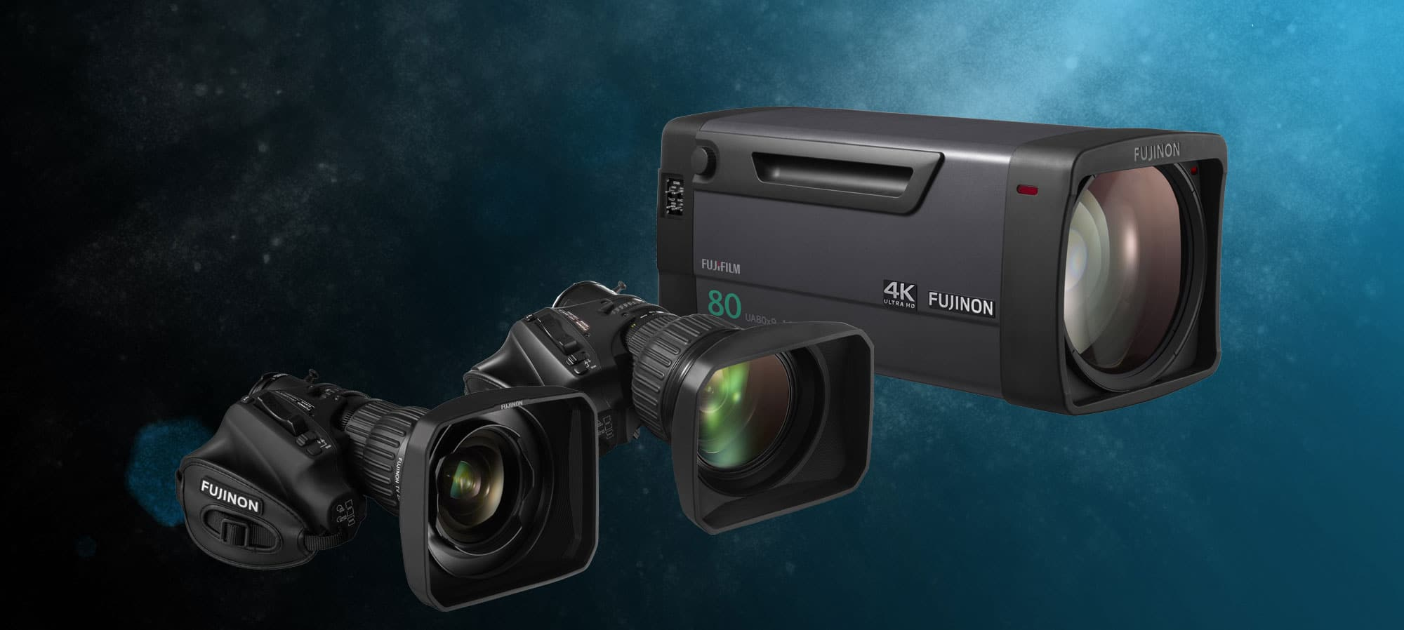 HD and 4K Broadcast Equipment Hire: Fujinon 4K Lenses