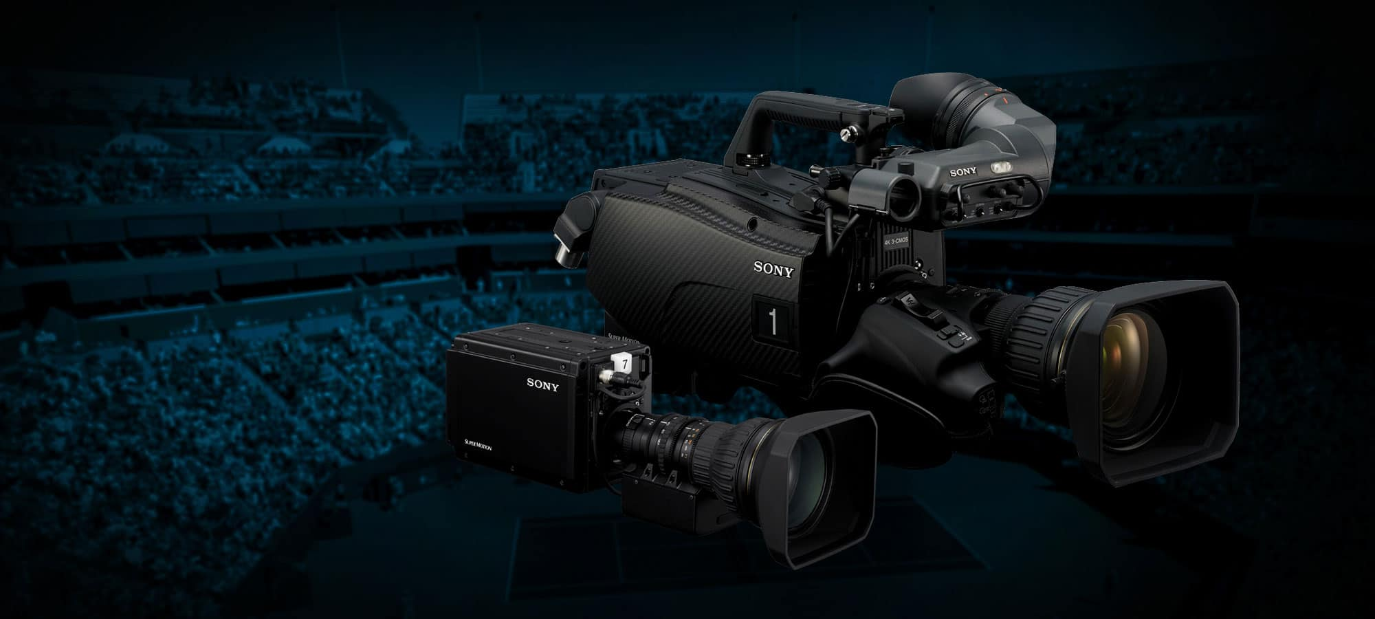 HD and 4K Broadcast Equipment Hire: Sony HDC-4300 and HDC-P43 4K Cameras
