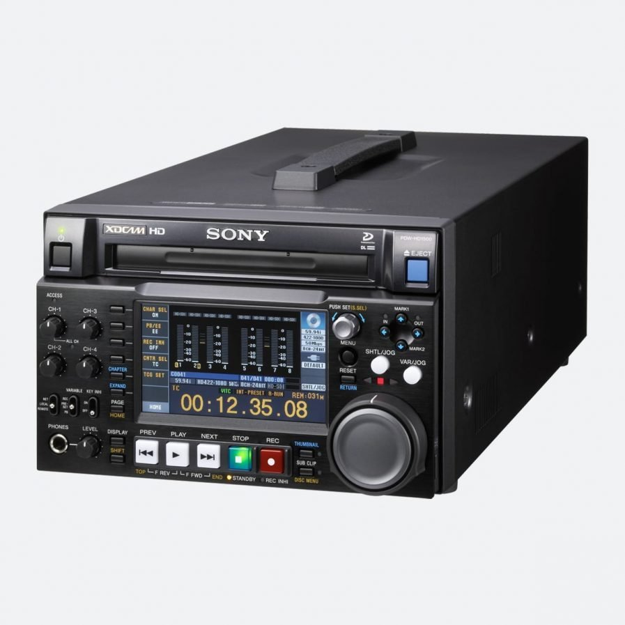 Sony PDW-HD1500 XDCAM HD422 Professional Disc Recorder