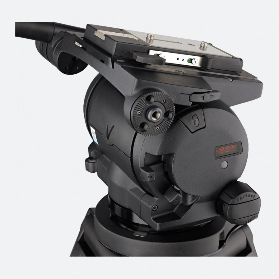 Vinten Vector 430 Pan and Tilt Tripod Head