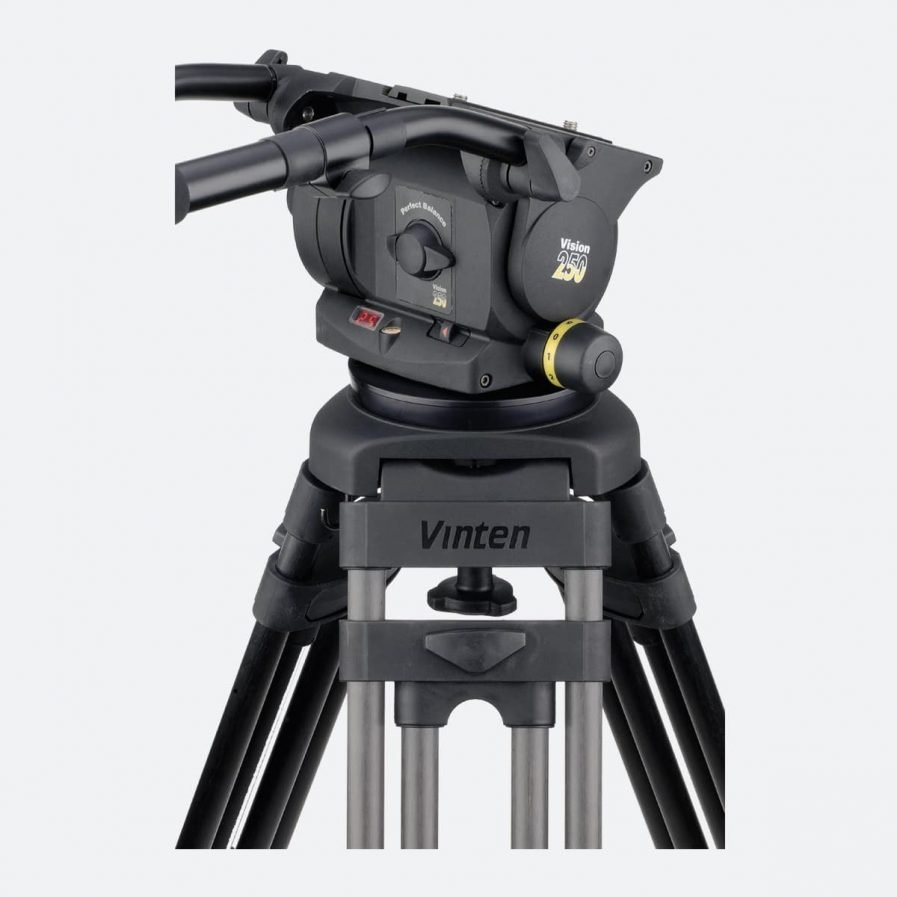 Vinten Vision 250 pan and tilt tripod head