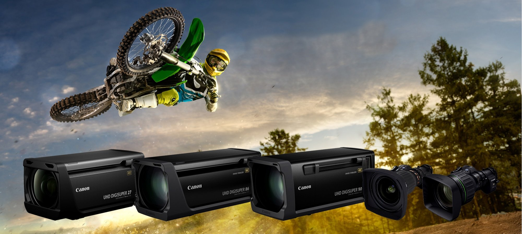 HD and 4K Broadcast Equipment Hire: Canon 4K Lenses