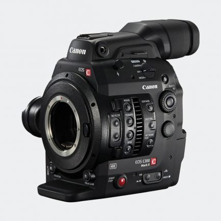 Canon C300 mark II 4K cinematography camera