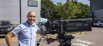 Sony HDC-3500 4K Camera System, Andy Scott ES Broadcast Hire